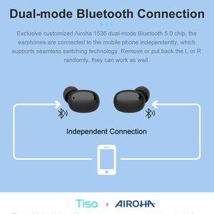 Image 3 - Tiso i6 double mode sans fil écouteurs contrôle tactile sans couture Bluetooth 5.0 casque antibruit micro 3D TWS stéréo casque