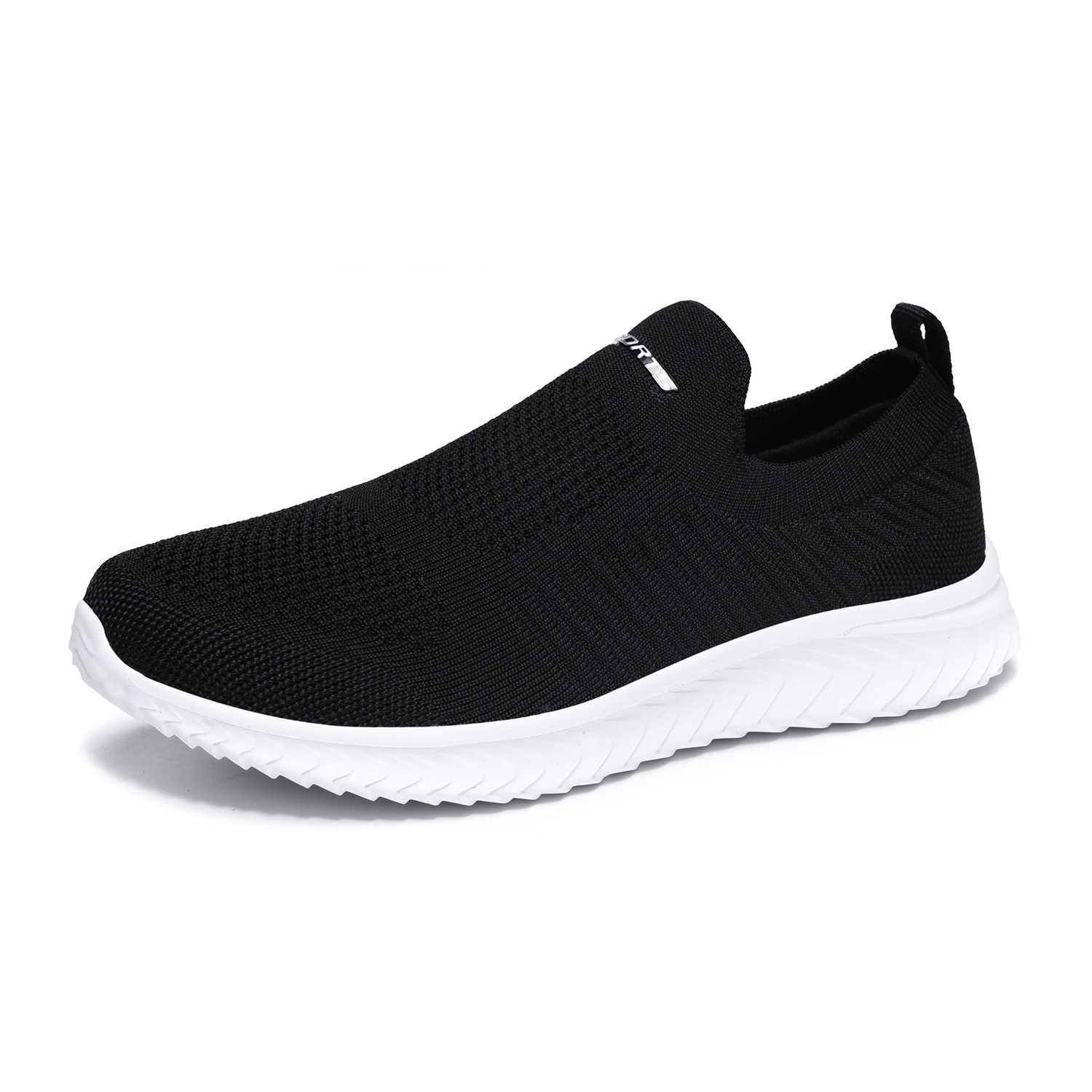 Sneakers Men Running Shoes Comfortable Flyknit Slip On Shoes Couple Outdoor Sports Sneakers Big Size 36-46# Jogging Trainers