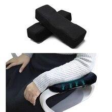 Cuscinetti per braccioli per sedie di terza generazione con aggiornamento in confezione da 2 con cuscino a gomito in Memory Foam di carbone di bambù per sedia da ufficio e da gioco