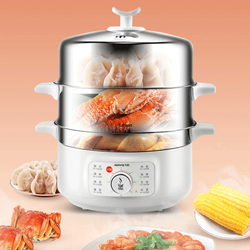 13L  Electric Steamer  Multifunctional Household Automatic Power-off  Electric Steamer Food Warmer  Electric Steamer 220V