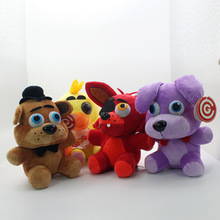25 CM FNAF new cute bear wall hanging plush toy decoration childrens toys gift