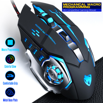 цена на NEO STAR Professional Wired Gaming Mouse Mice 6 Buttons 3200DPI Computer Mouse Gaming USB Optical For Laptop Desktop Gamer Mouse