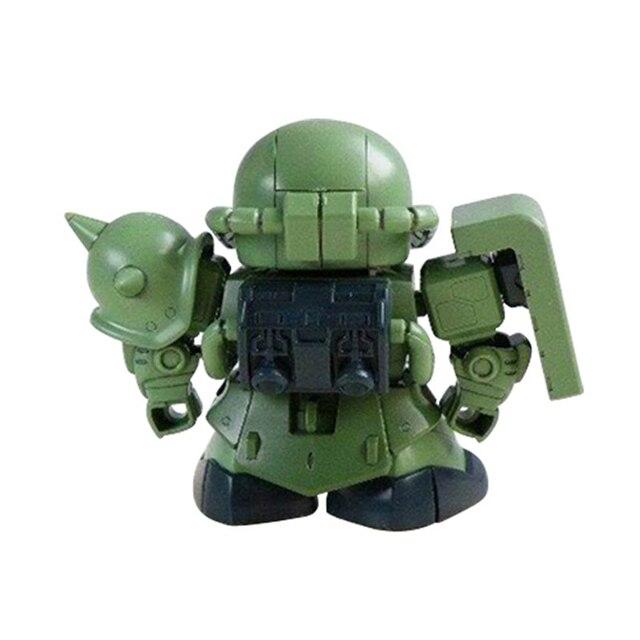 Оригинальный Bandai SD BB Warrior 218 Zaku II производственная сборка фигурка Brinquedos модель куклы