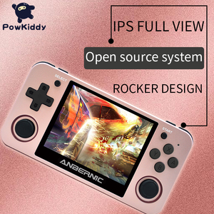 Image 4 - Powkiddy RG350 Handheld Game Console RG350M Metal Shell Console Open Source System 3.5 Inch IPS Screen Retro Ps1 Arcade 3D Games