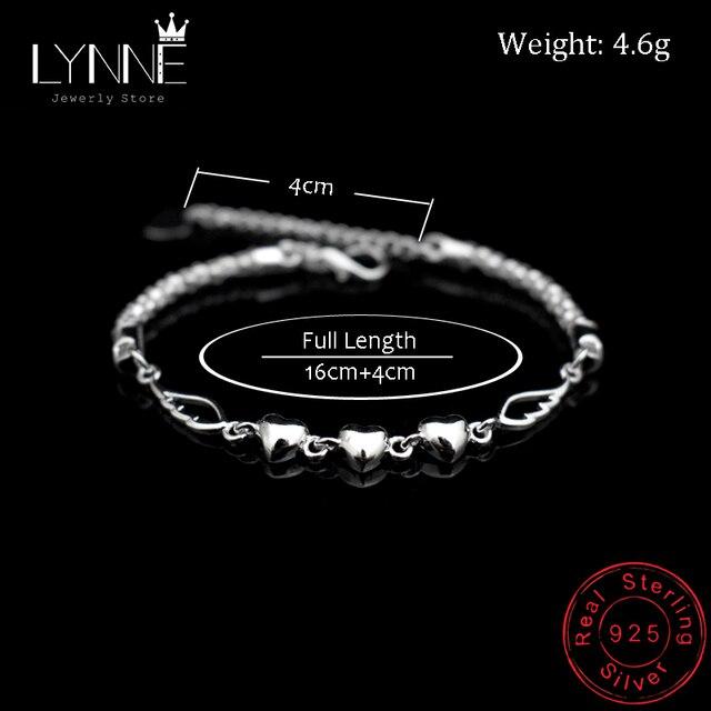 Nouvelle mode ange aile pendentif Bracelet 925 en argent Sterling trois Grain coeur breloque Bracelets pour femme bijoux main chaîne cadeau