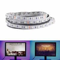 12V 24V LED Light Strip SMD 5050 RGB RGBW RGBWW Waterproof 60Led/s 5 M 12 24 V Volt LED Strip Lights Lamp Ribbon TV Backlight