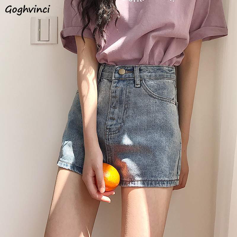 Shorts Women Summer Trendy Denim Kawaii Elegant Ulzzang Harajuku Soft Loose High Waist All-match Streetwear Womens Trousers Chic