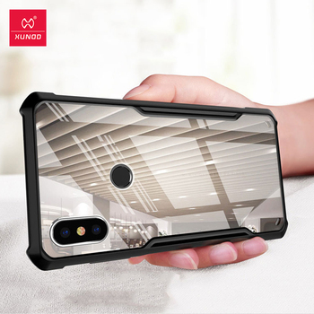 XUNDD Shockproof Case For Xiaomi MIX 2S Case Transparent Cover Soft Fitted Wallet Back Cover Shell For Mi MIX2S MIX 2s Cover