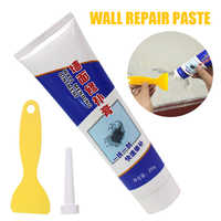 250g Wand Reparatur Salbe Universal Ausbessern Paste Reparatur Creme Mörtel Schöne Dichtstoff für Geknackt Geschält Löcher Wand + Schaber