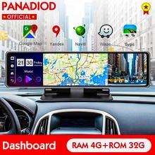 12 дюймов Android 8,1 Видеорегистраторы для автомобилей 4G тире Камера Full HD Зеркало заднего вида видео Регистраторы регистратор GPS Wi-Fi Двойной объе...
