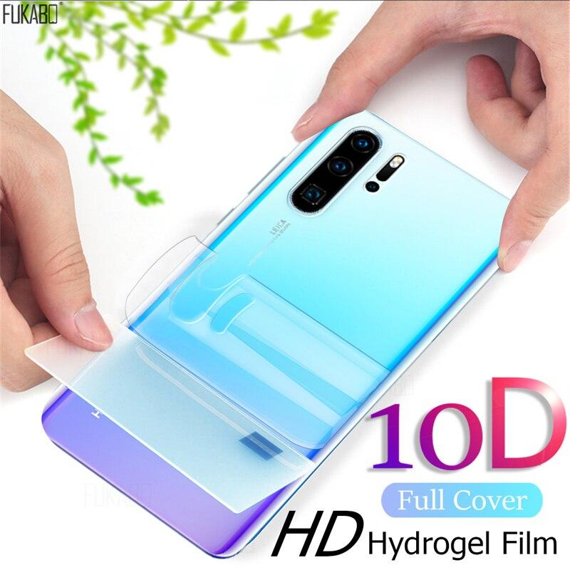 10D ön arka hidrojel Film için Huawei P40 Pro P30 P20 Lite P akıllı için 2019 ekran koruyucu Mate 20 lite Pro kapak cam değil