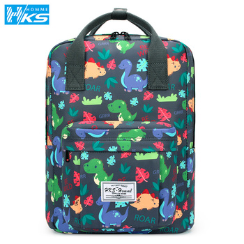 цена Laptop bag colorful Backpack For Women 2020 Waterproof Canvas Travel Backpacks Large Capacity School Bag For Teenage Youth онлайн в 2017 году