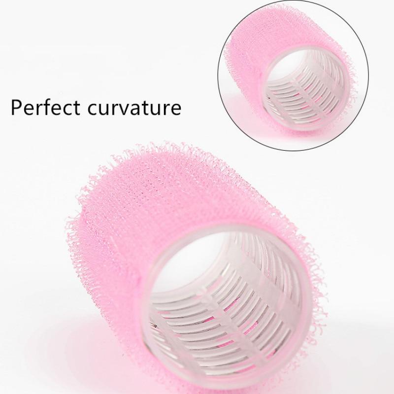Rolos de cabelo grandes rolos auto aperto segurando auto-adesivo pegajoso cabeleireiro profissional para diy multi tamanho salão de beleza ferramenta 3/1pcs