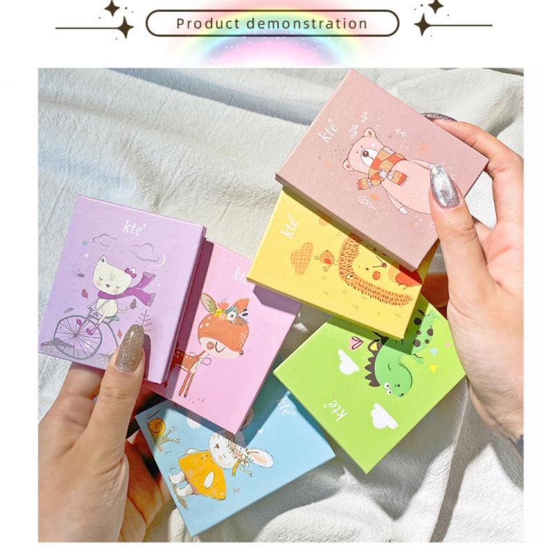 Tavolozza di ombretti per animali a 4 colori evidenzia Shimmer Portable Waterproof Natural Long Lasting Eye Makeup TSLM2