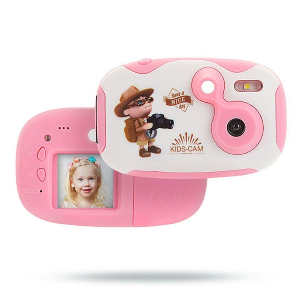 Neck Strap Anti Fall Toy Kids Camera Mini Toddler HD Digital Photography Photo Cartoon Educational Gift