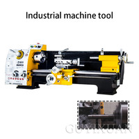 220V/750W Household lathe Small machine tool Double-sided curved disc lathe Metal lathe Industrial grade lathe