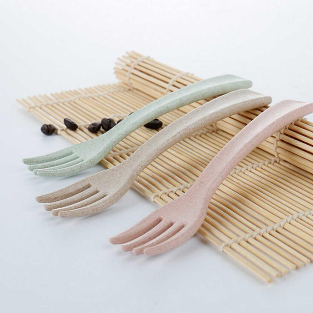 Pinkycolor, cuchara para bebé, tenedor para niños, Set de cubiertos para alimentación segura para bebé, platos para bebé con temperatura, cubiertos infantiles, cuchara para niños