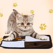 Cat Scratch Board Multifunctional Scraper Mat Kitten Sleepy Pet Product Yoys Scratch-Resistant Scratching Blanket