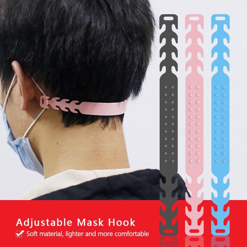 Mask Ear Hooks Extension Buckle Artifact Anti Lock Buckle Ear Protection Mask Hook Ear Pain Prevention Mask Buckle Mask Hook