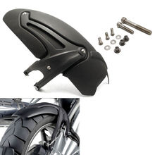 Black Rear Fender Wheel Hugger Mudguard Wheel Hugger Splash Guard for 2008 2009 2010 2011 2012 BMW R1200GS Adventure Accessories cnc side stand switch protector guard for bmw r 1200 gs 1200gs r1200gs lc adventure adv 2013 2018 13 14 15 16 17 18 cover cap