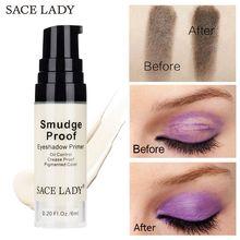 SACE LADY Eyeshadow Primer Moisturize Brighten Professional Eye Base Cream Make Up Oil Control Liquid Shadow Cosmetic