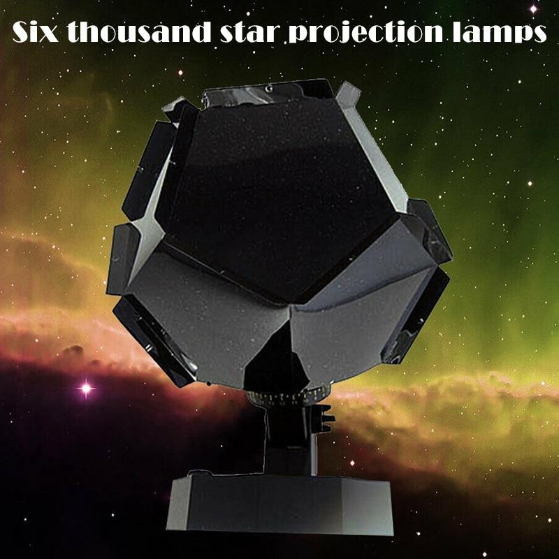 Novo Natal Estrelas Estrelado Projetor Luz Faça Você Mesmo Montagem Casa Planetário Lâmpada Dom668 60000 Céu