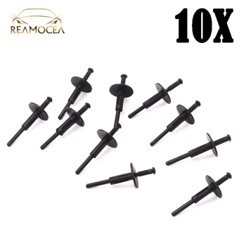 Reamocea 10X Auto Wheel Plastic Rivet Clips Fixing Fasteners Fixed Cover Clamps 51777171004 Fit For BMW E70 E70N E71 X1 X3 X5 X6 image