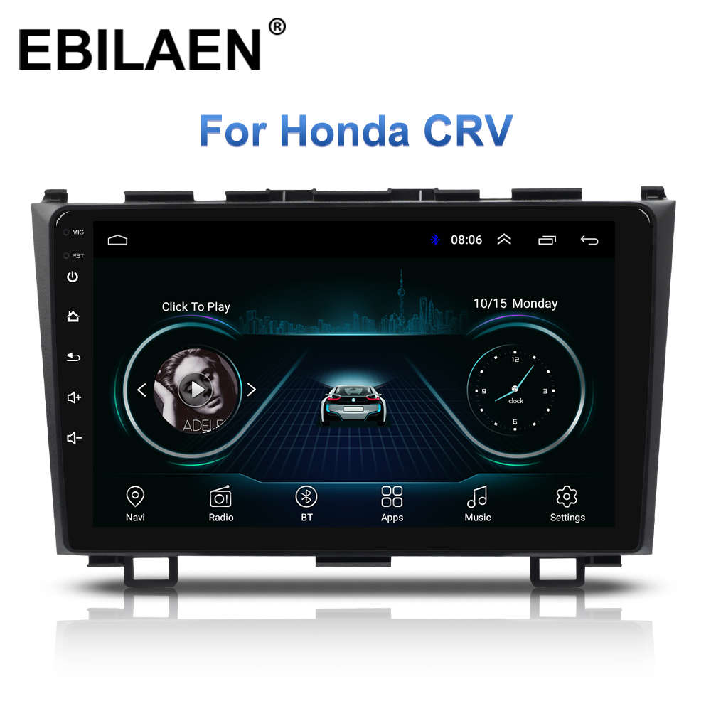 Car Multimedia Player For <font><b>Honda</b></font> <font><b>CRV</b></font> CR-V 2Din Car Android Radio 2006-2011 Autoradio Stereo <font><b>GPS</b></font> Navigation Tape recorder DVD Wifi image