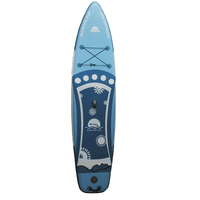 Painting stand up paddle board Sup Board with Carbon Fiber Paddle