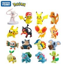 Takara Tomy – Collection de figurines Pokemon authentiques, moncolle-ex, modèle d'action de monstre de poche, jouets poupées pour enfants, boîte cadeau officielle