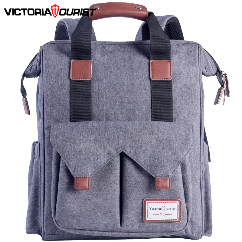 "Victoriatourist Backpack Men Women Stylish Back Pack Multi-Space Versatile for Travel Leisure Work School 15.6"" Laptop Suitable"
