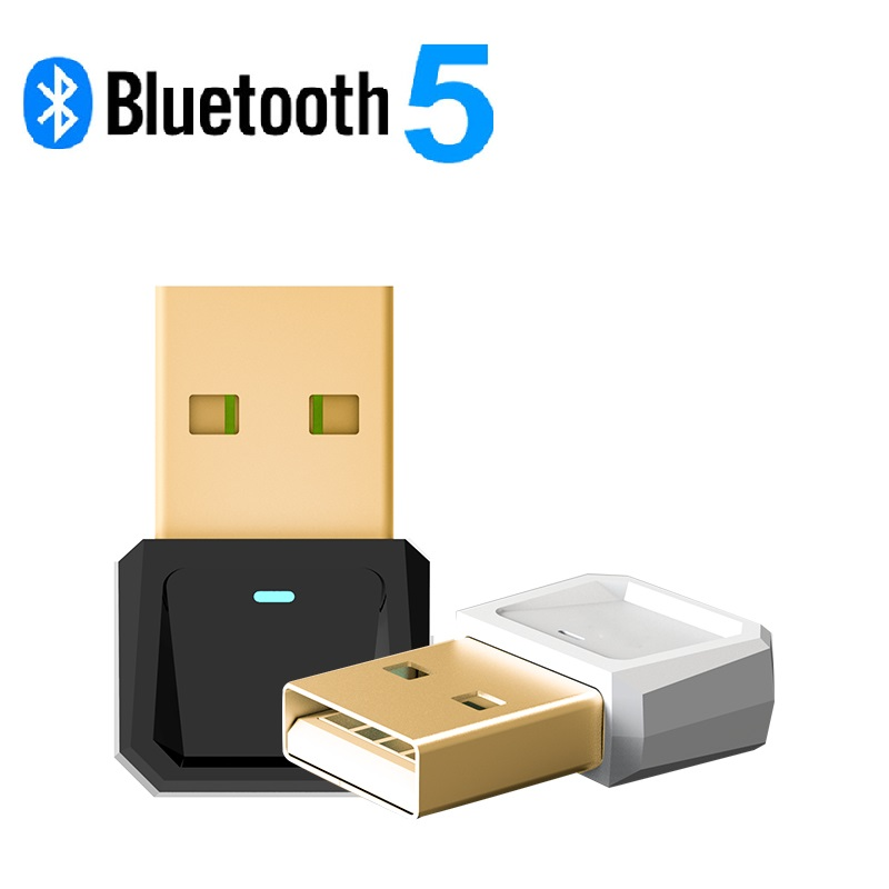 Bluetooth 5.0 Wireless Dongle Audio Transmitter For Computer Mouse Keyboard Adapter Android Phones Transmission HEVARAL Dongle
