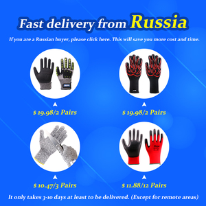 Image 5 - שחור כפפות GMG שחור אדום לבן פוליאסטר שחור אפור Nitrile חלק ציפוי בטיחות עבודה כפפות מכניקה יד כפפות לעבודה