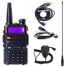 Baofeng UV-5R рация 128 Двухдиапазонная радиостанция UHF& VHF 136-174MHz& 400-520MHz pofung UV 5R охотничий портативный Радиоприемник