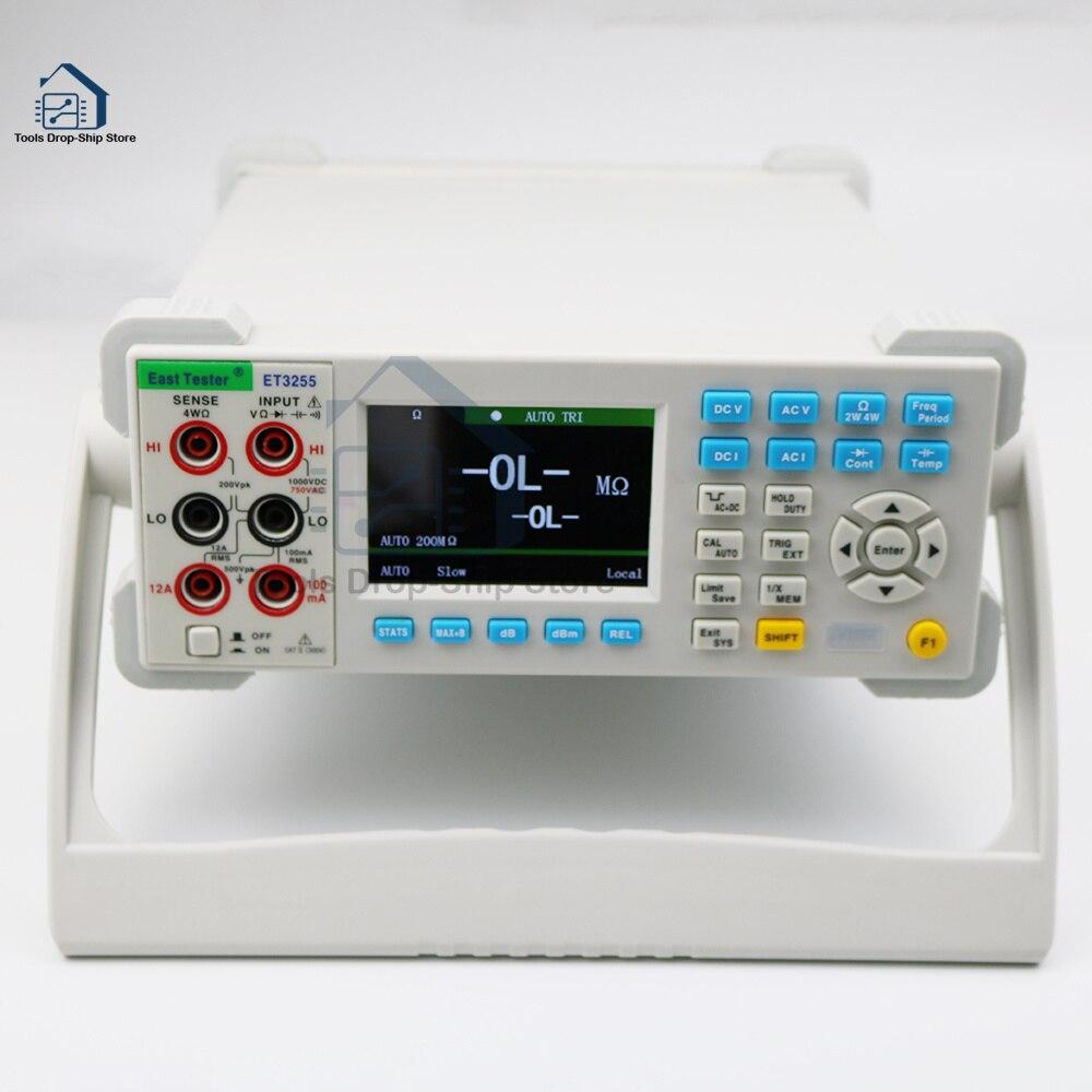 tester alta precisão multímetro digital resistência capacitância