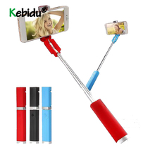 Lipstick Selfie Stick Mini Self Timer Rod Wire Telescopic Artifact Self Timer Lever For Mobile Phone Universal
