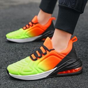 Image 5 - Кроссовки мужские дышащие, повседневная теннисная обувь для бега, для взрослых, 2020