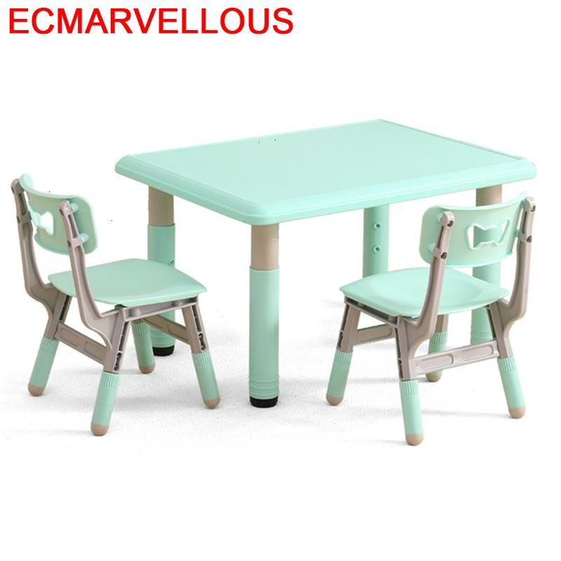 Estudio Y Silla Kids Chair And Pupitre Tavolo Bambini Cocuk Masasi Kindergarten Bureau Study Enfant Mesa Infantil Children Table