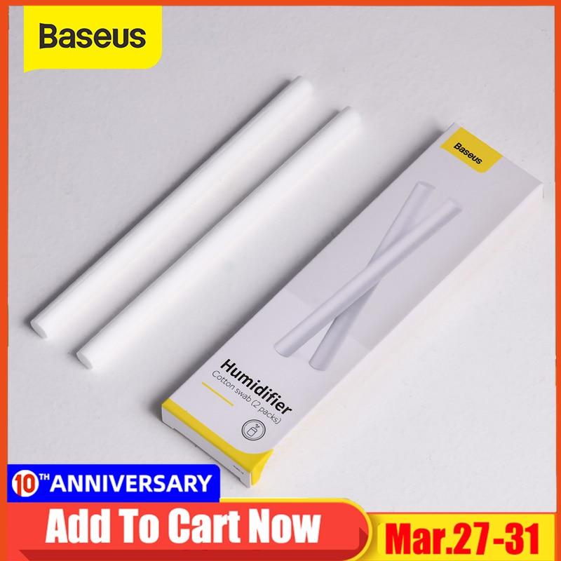 Baseus 2pcs Replacement Filter Cotton Sponge Stick Mini Filter Sponge For USB Humidifier Diffuser Air Humidifier 4 Types