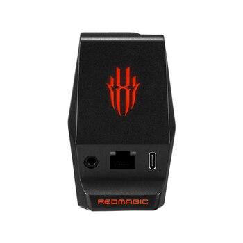 Перейти на Алиэкспресс и купить Настольная док-станция зарядное устройство для Nubia Red Magic 3 3S телефон 3,5 мм Наушники Тип C зарядная док-станция magic 5G оригинальное зарядное устр...