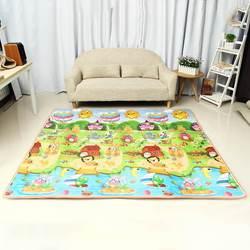 Детский игровой коврик, водонепроницаемый, XPE, мягкий, складной, ползающий, игровой, складное покрывало, развивающие игрушки