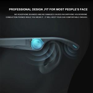 Image 5 - Wysokiej klasy inteligentne okulary wodoodporny bezprzewodowy zestaw głośnomówiący Bluetooth wywołanie muzyki Audio otwarte okulary przeciwsłoneczne