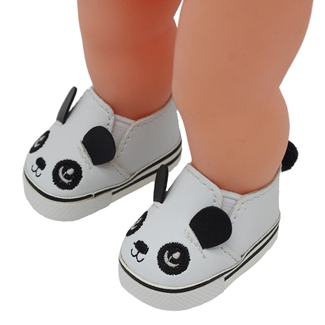 5.5*2.8cm PU Cute Doll Strap 14-inch Shoes For 1/6 Doll EXO dolls fit 14.5inch girl dolls boots Clothing Accessories toys Boots