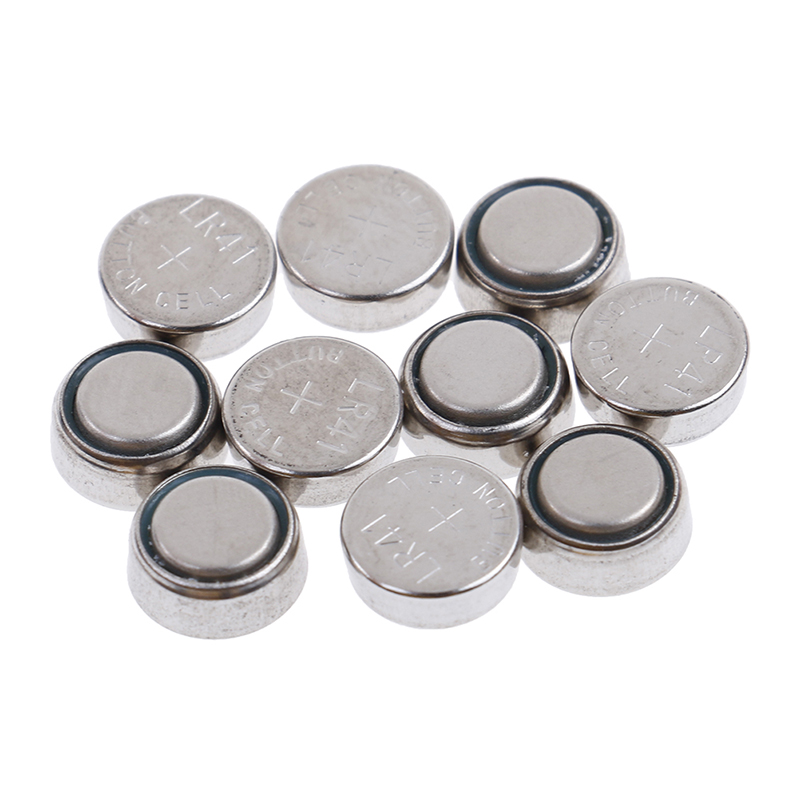 10pcs Hot Selling AG3 L736 G3 G3A V3GA V36A LR41 GP192 Button Coin Cell Alkaline Battery High Quality