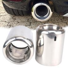 Универсальные автомобильные выхлопные трубы Глянцевая выхлопная труба из нержавеющей стали глушитель выхлопной трубы кончик хвоста для Mazda 6 CX-5