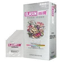 100 шт./упак. ELASUN ультратонкие презервативы противозачаточное устройство большое качество масла натуральный латекс для ее резиновые презерв...