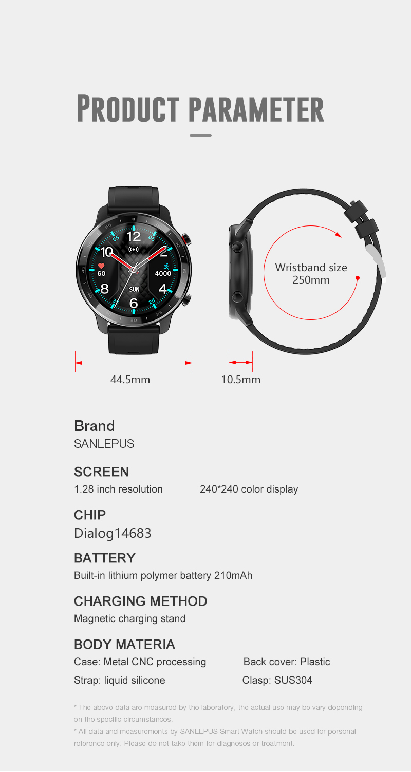 H7d230c1c1e8b409a9841b1ac826a28ecS SANLEPUS 2021 NEW Smart Watch Men Women IP67 Waterproof Watches Smartwatch Heart Rate Monitor For Android Xiaomi Samsung iPhone