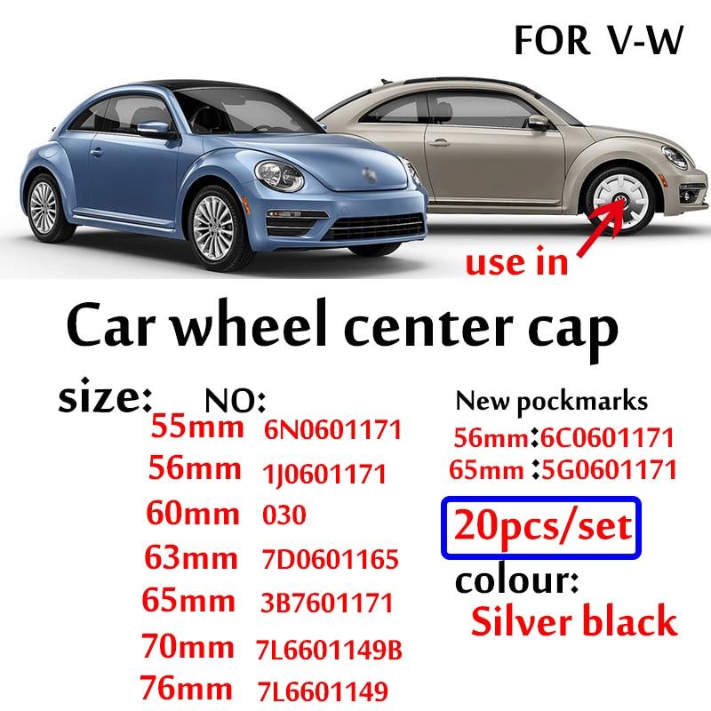 20 штук 55 мм 56 мм 60 мм 63 мм 65 мм/70 мм 77 мм для колпаков на колеса Крышка колпака колеса для vw