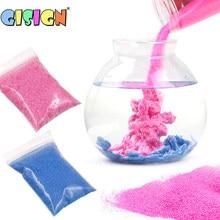 50g crianças diy magia não brinquedos de areia molhada para crianças engraçado incrível espaço slime moldagem não molhado areia arte brinquedo