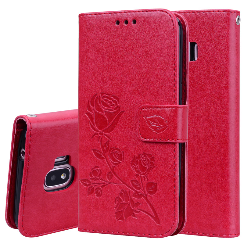 H7d235fdd70974eec8a1e592ac68559f6p - Rose Flower Leather Case For Samsung Galaxy S8 S9 Plus S7 S6 Edge S5 S3 S4 J3 J5 J7 A3 A5 J1 2016 2017 J2 Grand Prime Flip Cover